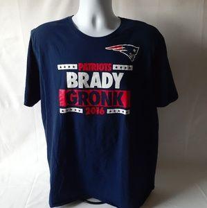 Nike Brady/Gronk 2016 short sleeve t-shirt